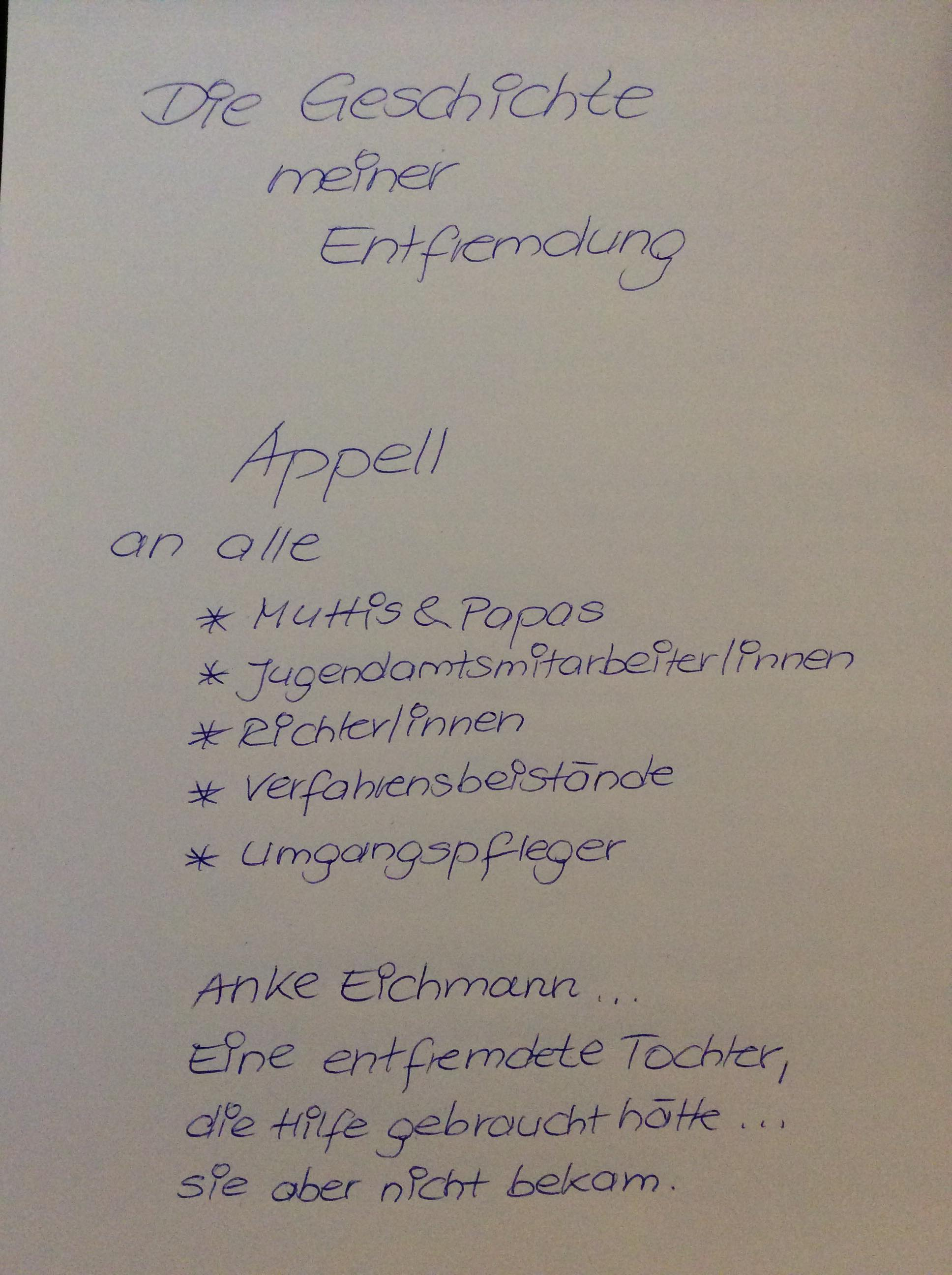 Nach schreiben abschiedsbrief trennung Rührender Abschiedsbrief: